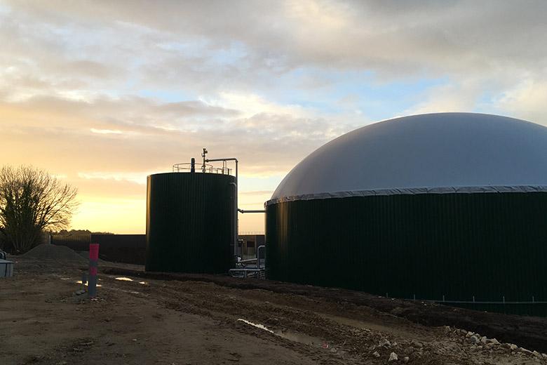 image Centrale biogaz de Quimper