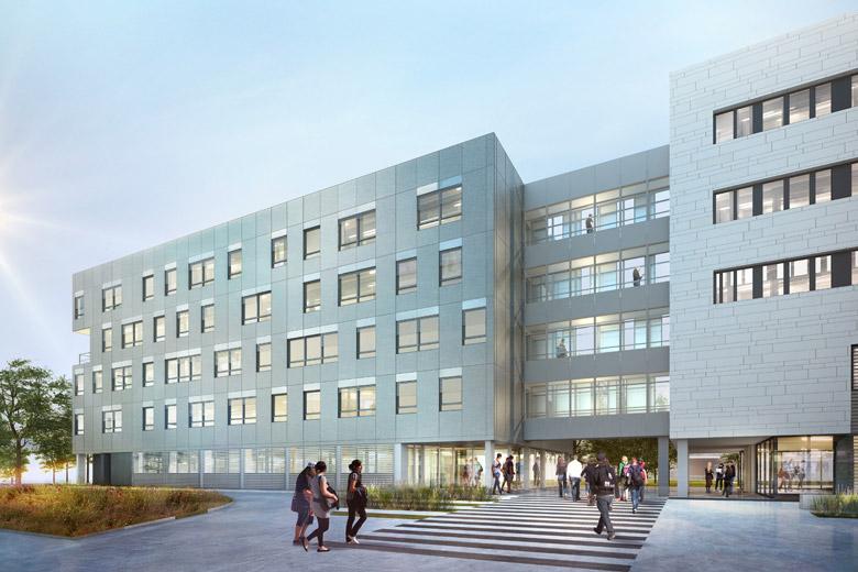 image universite Grenoble entree