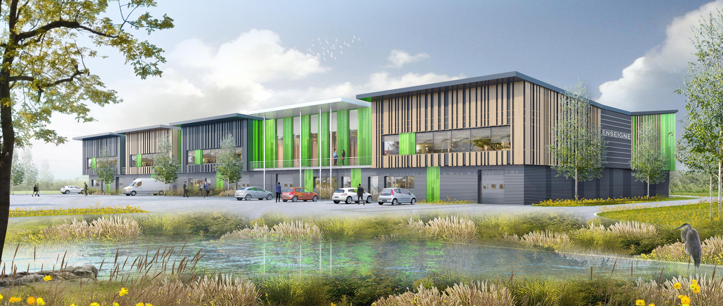 Atland développe 40 000 mètres carrés à Conflans-Sainte-Honorine